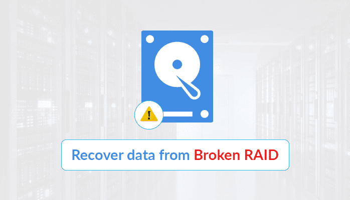 recover data from RAID